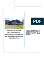Informe Tecnico Planta de Almidon