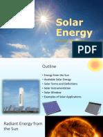 MEHB503 10 Solar Energy