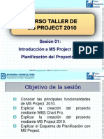 Planificacion MS Project
