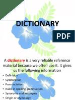 2 Dictionary