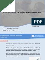 Analisis de Inversiones