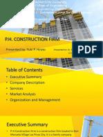 P.H. CONSTRUCTION FIRM