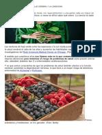 5 Alimentos Para Mejorar La Salud Cerebral y La Longevidad