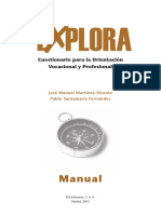 Test Explora manual