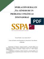 la despoblación rural en España informe .pdf