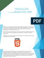 Intro ProgramaciónWeb