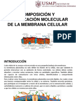 Seminario 2 - Biología (Membrana Celular)