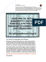 Haynes and Boone, LLP Oil Patch Bankruptcy Monitor