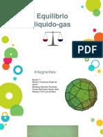 EQUILIBRIO LIQUIDO GAS-FISICOQUIMICA
