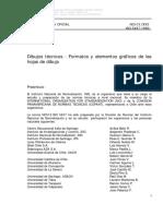 NCh 13-1993 Dibujo Tecnico