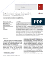 Dengue Dynamics and Vaccine Cost-effectiveness in Brazil