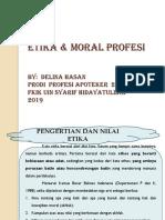 Etika Profesi Pengertiannya (Kuliah 1)