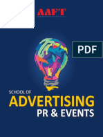 AAFT Advertising PR Events Brochure