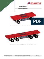 Spmt Light Spec 2 and 4 Axle Units