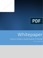 Whitepaper How to Create a Good Fe Model
