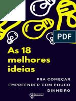 As 18 Melhores Ideias Pra Começar Empreender Com Pouco Dinheiro COMPLETO