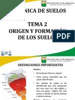 2. Origen y Formacion de Los Suelos