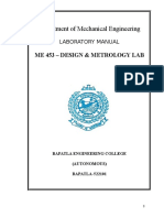 Metrology Manual(2012)