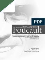 De Regreso Al Taller. Notas Alrededor De Foucault