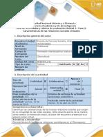 Guía de Actividades y Rùbrica de Evaluación Unidad 3 - Fase 3 - Entregar Informe en Lino
