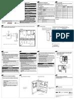 Instrucciones de Instalacion Gabinete (X39641180-01G-EM)