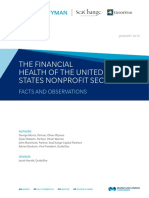 The Financial Health of the US Nonprofit Sector