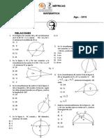 Relaciones Metricas- Circunferencia- Ficha Terminada - Nivel 3-4