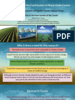 climate change and the food systems in miami-dade county