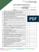 Lista de Cotejo Seguimiento Planificacion 2018