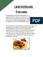 El Microondas Informacion