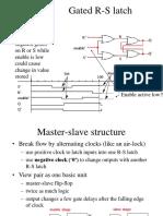 D-latch d Flip Flop Togle Ff Registers and Counters