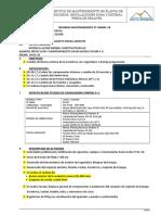 Inf. Mantto Gm005-18 Ch. Saymon 4.25