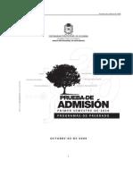 prueba admision nacional