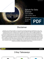 Splunk for Business Analytics