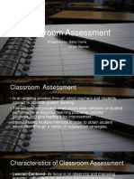 classroomassessment-140110222433-phpapp01