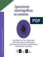 Operaciones Historiograficas CEA 2017