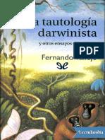 tautologia darwinista