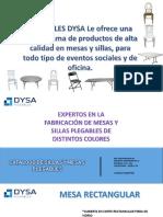 Catalogo Plegables Dysa..