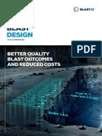Optimised Blast Design Flyer
