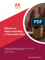 Información Máster en Value Investing y Teoría Del Ciclo