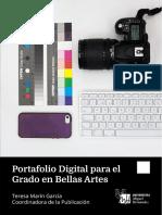 Portafolio Digital Para El Grado en Bellas Artes