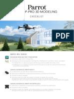 Bd Parrot Bebop-pro-3d Checklist a4 Es 2018-02-23