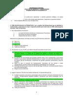 Pauta de Corrección--examen Derecho Economico III - Diurno 2019 - Ordinario - (Primer Semestre)