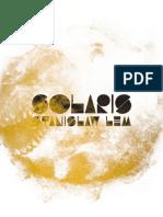 Stanislaw Lem - Solaris (2017, Editora Aleph)