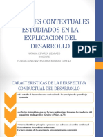 Factores Contextuales Estudiados en La Explicacion Del Desarrollo (1)