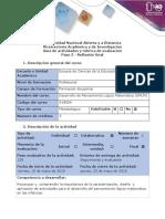 Guía de Actividades y Rúbrica de Evaluación - Paso 5 - Reflexión Final