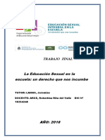 Trabajo Final OliveraGriselda-ESI