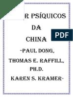 Super Psíquicos Da China Paul Dong, Thomas E. Raffill, Ph.D. Karen S. Kramer 2-Convertido