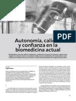 Autonomia Medica-Miguel Kottow
