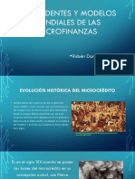 Modelos mundiales de las microfinanzas